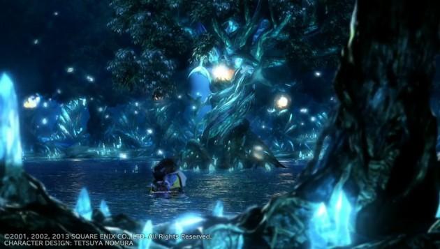 FF10、ティーダとユウナの水中キスシーン画像5
