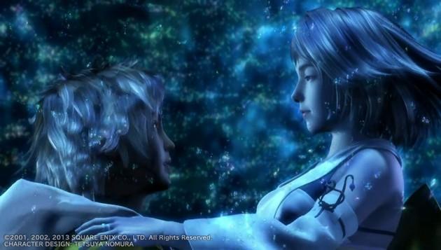 FF10、ティーダとユウナの水中キスシーン画像10