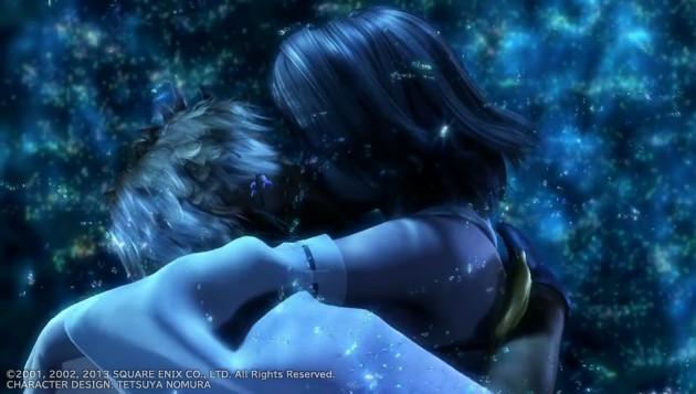 FF10、ティーダとユウナの水中キスシーン画像11