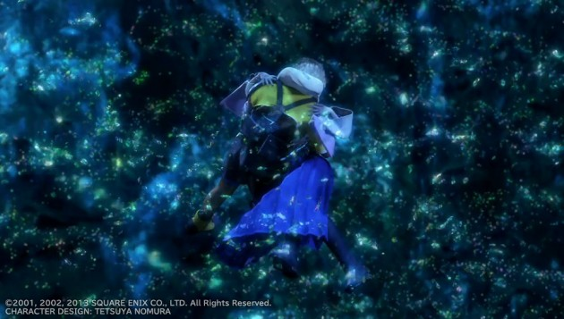 FF10、ティーダとユウナの水中キスシーン画像12