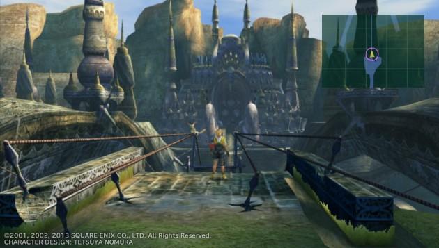 FF10、レミアム寺院に上陸