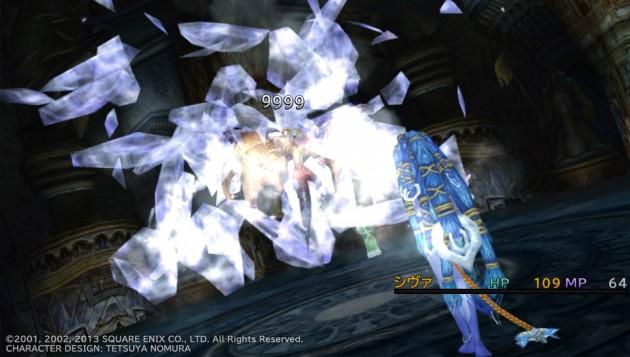 FF10、レミアム寺院でベルゲミーネと召喚獣バトル4