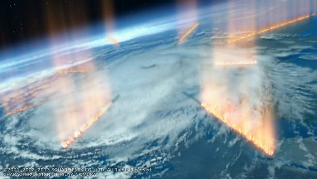 シンの惑星規模の攻撃