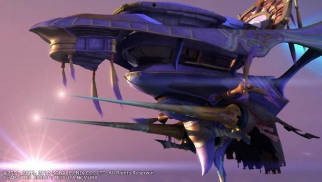 飛空艇の主砲(どう見てもモンハンの龍撃砲)