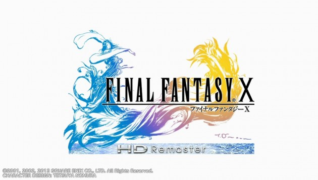 FINAL FANTASY X HD Remasterタイトル画面
