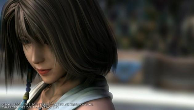 ユウナの悲しい顔