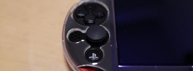PS Vitaアクセサリーのアナログスティック用グリップカバー