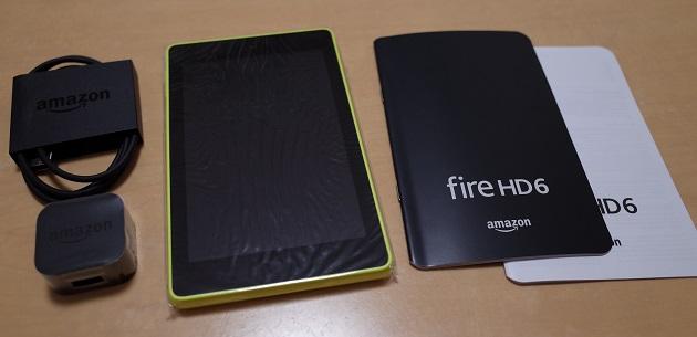 FireHD6に入っている物