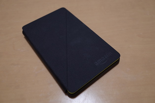 FireHD6タブレットのケースを閉じた状態