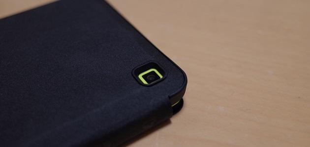 FireHD6タブレットカバーのカメラレンズ部分