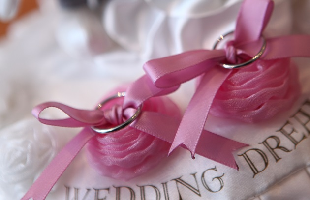 結婚指輪の写真
