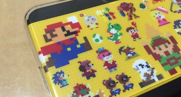 スーパーマリオメーカーパックのドット絵カバー