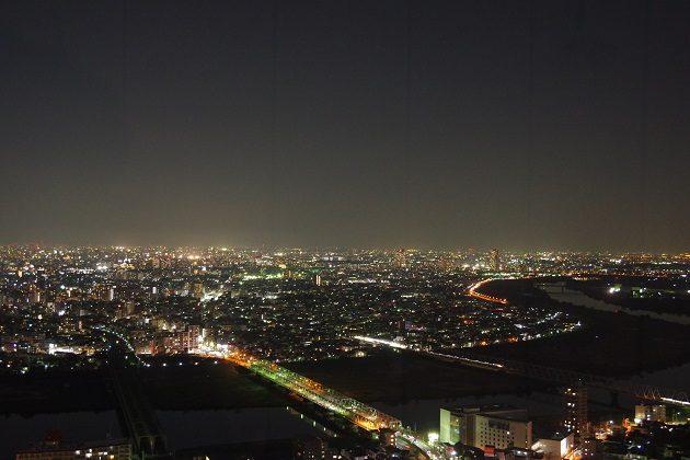 アイ・リンクタウン展望デッキからの夜景①