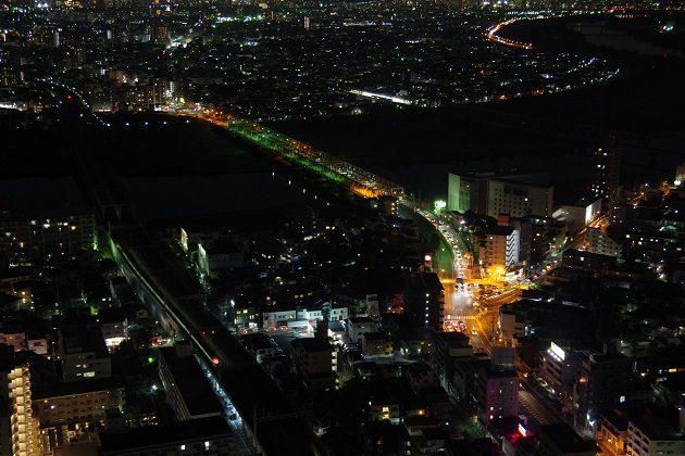 アイ・リンクタウン展望デッキからの夜景②