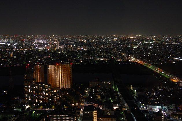 アイ・リンクタウン展望デッキからの夜景⑤