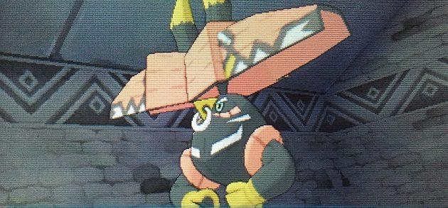 ウラウラ島の守り神ポケモン、カプ・ブルル