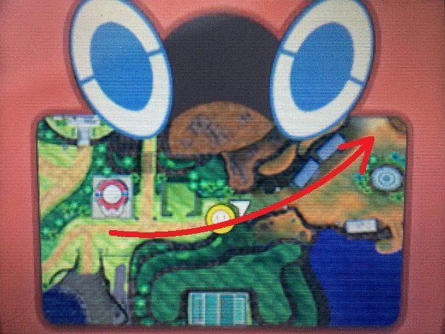 ウラウラ島のモーテルへの行き方マップ