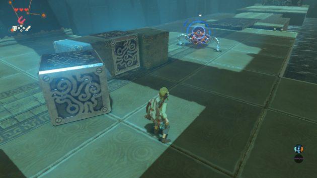マ・オーヌの祠、3つ目の部屋で敵が出現