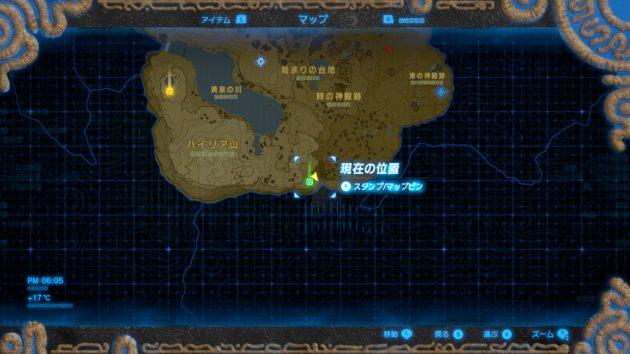 ワ・モダイの祠の近くのマップ