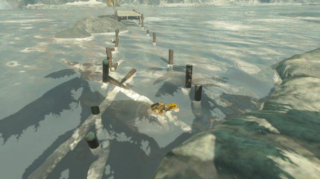 氷海で即死