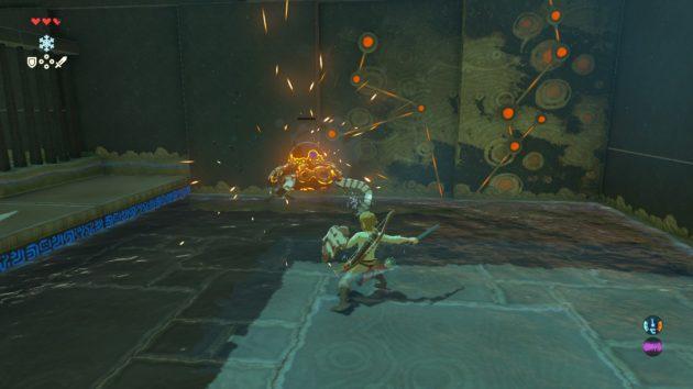 トゥミ・ンケの祠の機械蜘蛛を撃破