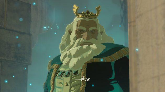 ハイラル王とリンクの会話5