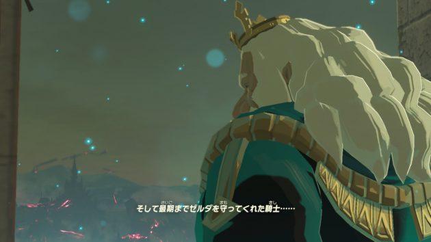 ゼルダ姫を最後まで守った騎士