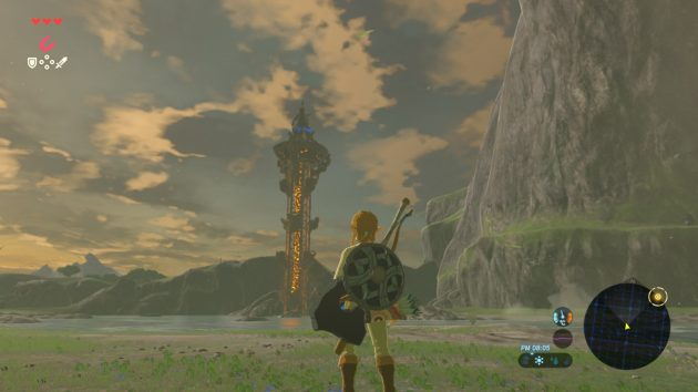 双子山の塔まであと少し