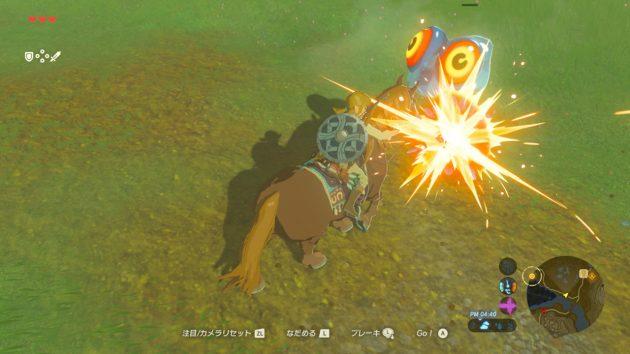 ゼルダの伝説で騎馬戦