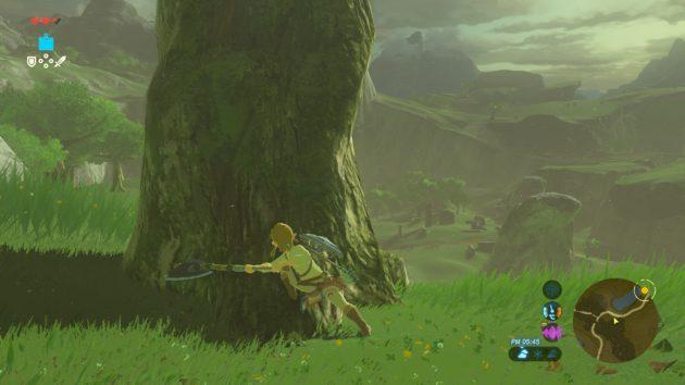 大きな木は切れない