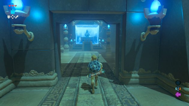 ミャマ・ガナの祠の祭壇入り口