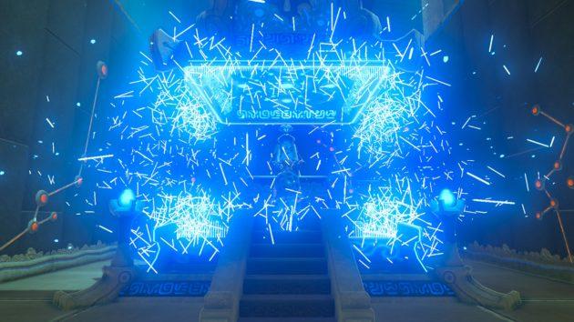 ミャマ・ガナの祠の祭壇の結界解除