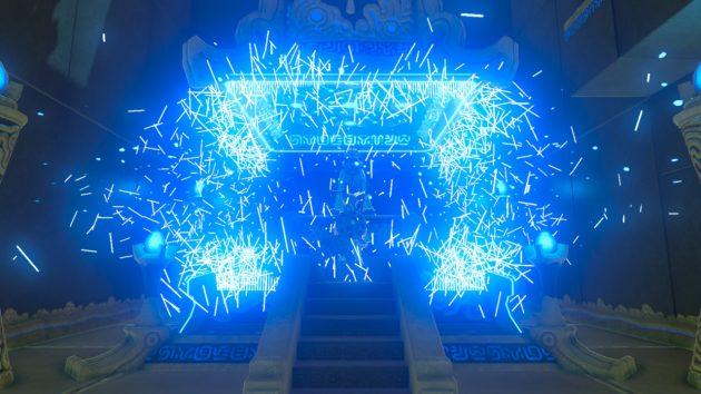 ハユ・ダマの祠の祭壇の結界解除