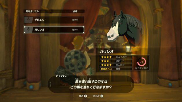 2匹目の愛馬ガリレオ