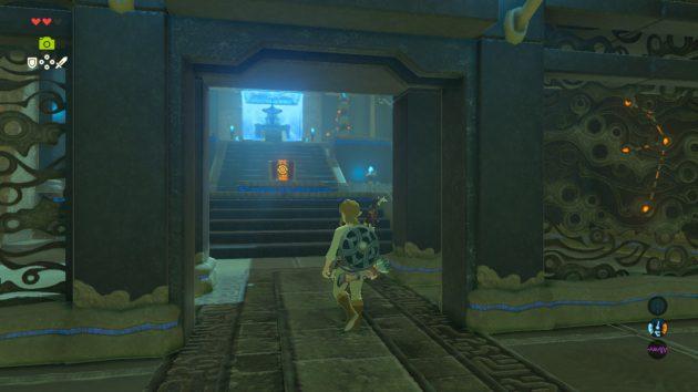 タロ・ニヒの祠の祭壇入り口