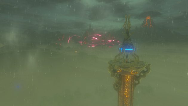 起動した平原の塔