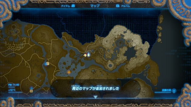 ラネール地方のマップ情報が追加
