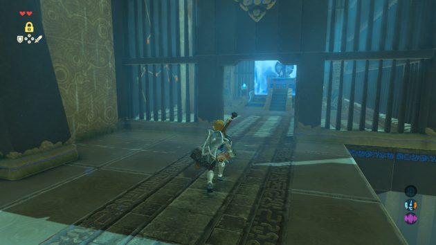 ネヅ・ヨマの祠、祭壇の扉開く