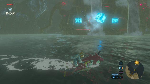 神獣ヴァ・ルッタの氷攻撃
