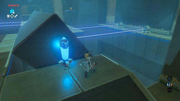 ジズ・カフィの祠の2つ目の章廃物はレーザービーム