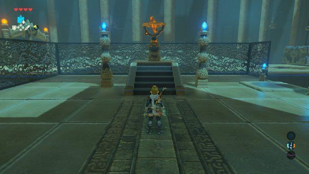 カツ・トサの祠、2つ目の台座
