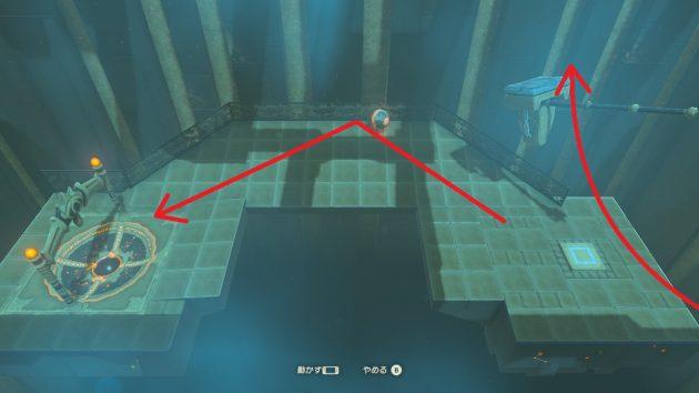 カツ・トサの祠、2つ目のジャイロ攻略方法