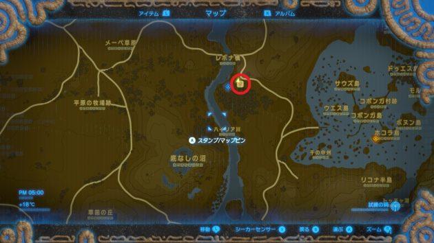 湿原の馬宿のマップ情報