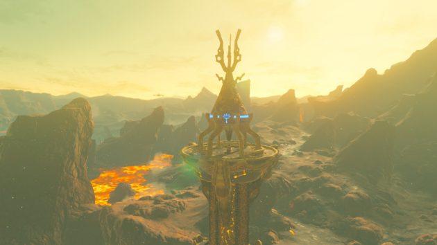 起動したオルディンの塔