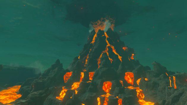 デスマウンテンの炎の神獣ヴァ・ルーダニア1