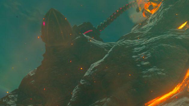デスマウンテンの炎の神獣ヴァ・ルーダニア2