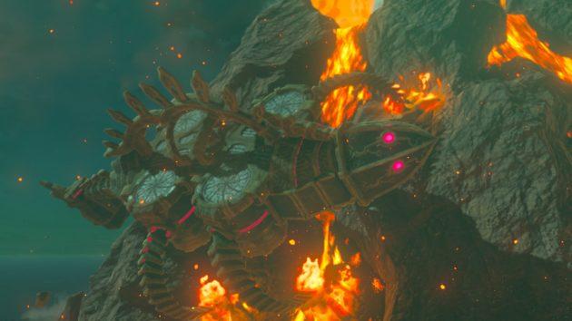 デスマウンテンの炎の神獣ヴァ・ルーダニア3