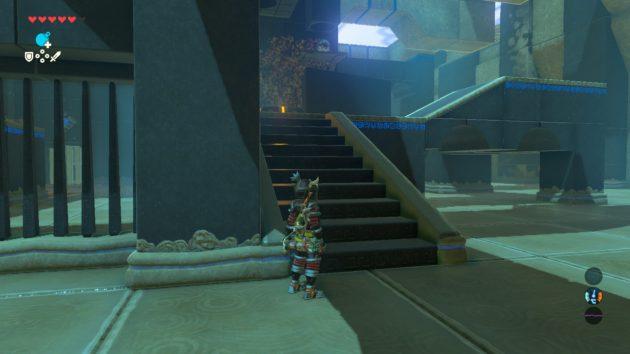 シモ・イトセの祠の階段