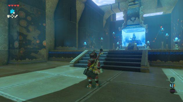 シモ・イトセの祠、祭壇に到着