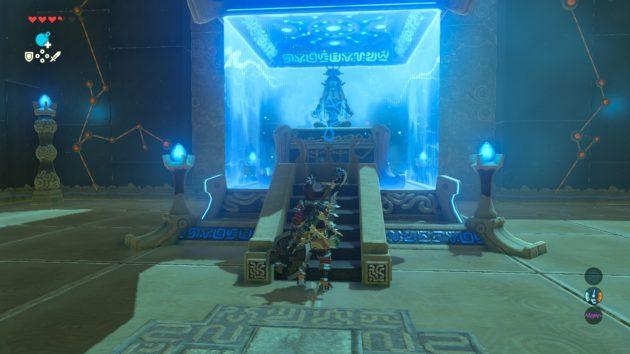 ケハ・ラマの祠の祭壇